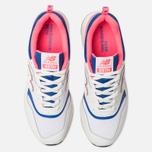 Мужские кроссовки New Balance CM997HAJ White/Pink/Blue фото- 5