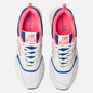 Мужские кроссовки New Balance CM997HAJ White/Pink/Blue фото - 5