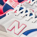 Мужские кроссовки New Balance CM997HAJ White/Pink/Blue фото- 6