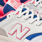 Мужские кроссовки New Balance CM997HAJ White/Pink/Blue фото - 6