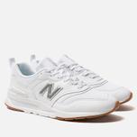 Мужские кроссовки New Balance CM997HCN White фото- 2