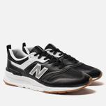 Мужские кроссовки New Balance CM997HCO Black/Silver фото- 2