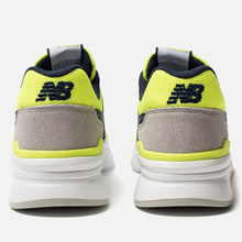 Мужские кроссовки New Balance CM997HCR White/Blue/Neon Green фото- 2