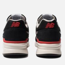 Мужские кроссовки New Balance CM997HDK Black/Red фото- 2