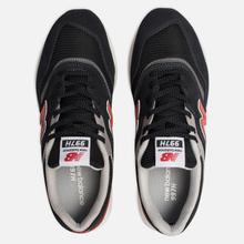 Мужские кроссовки New Balance CM997HDK Black/Red фото- 1