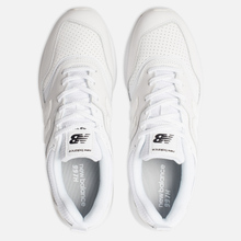 Мужские кроссовки New Balance CM997HDW White/White фото- 6