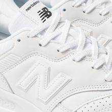Мужские кроссовки New Balance CM997HDW White/White фото- 5