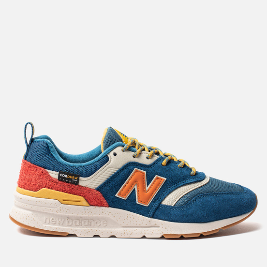 Мужские кроссовки New Balance CM997HFB Outdoor Pack Blue/Varsity Orange