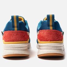 Мужские кроссовки New Balance CM997HFB Outdoor Pack Blue/Varsity Orange фото- 2