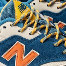 Мужские кроссовки New Balance CM997HFB Outdoor Pack Blue/Varsity Orange фото- 6