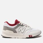 Мужские кроссовки New Balance CM997HGA White/Red фото- 0