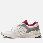 Мужские кроссовки New Balance CM997HGA White/Red фото- 2