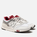 Мужские кроссовки New Balance CM997HGA White/Red фото- 1