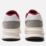 Мужские кроссовки New Balance CM997HGA White/Red фото- 3