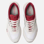 Мужские кроссовки New Balance CM997HGA White/Red фото- 5