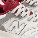 Мужские кроссовки New Balance CM997HGA White/Red фото- 6