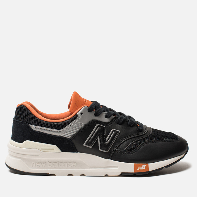 Мужские кроссовки New Balance CM997HGB Black/Orange/Grey