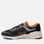 Мужские кроссовки New Balance CM997HGB Black/Orange/Grey фото- 2