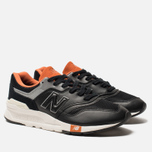 Мужские кроссовки New Balance CM997HGB Black/Orange/Grey фото- 1