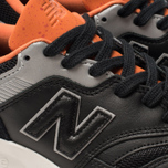 Мужские кроссовки New Balance CM997HGB Black/Orange/Grey фото- 6