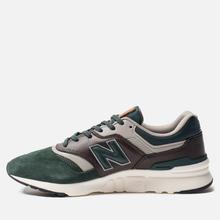 Мужские кроссовки New Balance CM997HXA Green/Black фото- 2