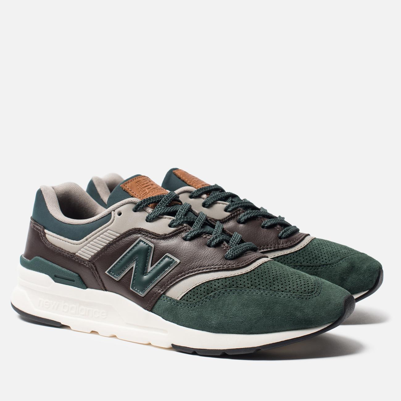 Мужские кроссовки New Balance CM997HXA Green/Black