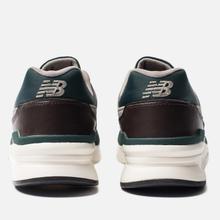 Мужские кроссовки New Balance CM997HXA Green/Black фото- 3