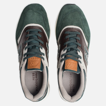 Мужские кроссовки New Balance CM997HXA Green/Black фото- 5
