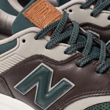 Мужские кроссовки New Balance CM997HXA Green/Black фото- 7