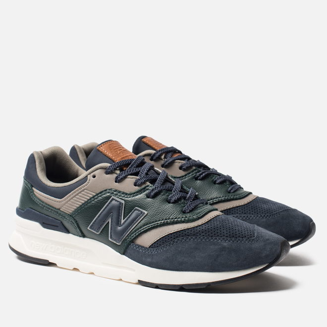 Мужские кроссовки New Balance CM997HXB Green/Navy