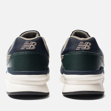 Мужские кроссовки New Balance CM997HXB Green/Navy фото- 2