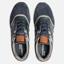 Мужские кроссовки New Balance CM997HXB Green/Navy фото- 1