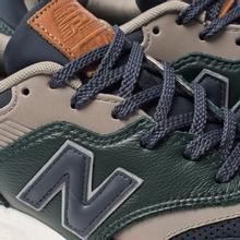 Мужские кроссовки New Balance CM997HXB Green/Navy фото- 6