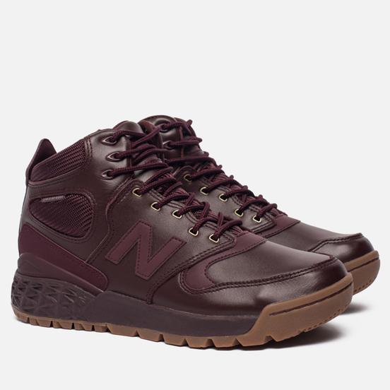 Мужские зимние кроссовки New Balance HFLPXCC Burgundy