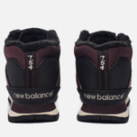 Мужские кроссовки New Balance HL754BB Burgundy/Black фото- 3