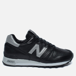 New Balance M1300BOK Bespoke Horween Men's Sneakers Black/Silver photo- 0