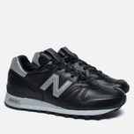 New Balance M1300BOK Bespoke Horween Men's Sneakers Black/Silver photo- 1