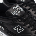 Мужские кроссовки New Balance M1500BK Leather Black/White фото- 3