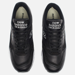 Мужские кроссовки New Balance M1500BK Leather Black/White фото- 4