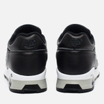 Мужские кроссовки New Balance M1500BK Leather Black/White фото- 5