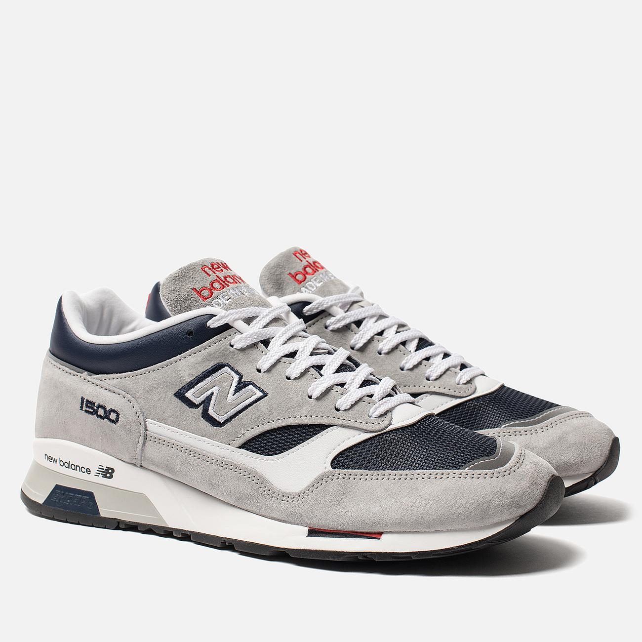 Мужские кроссовки New Balance M1500GNW Grey/Navy