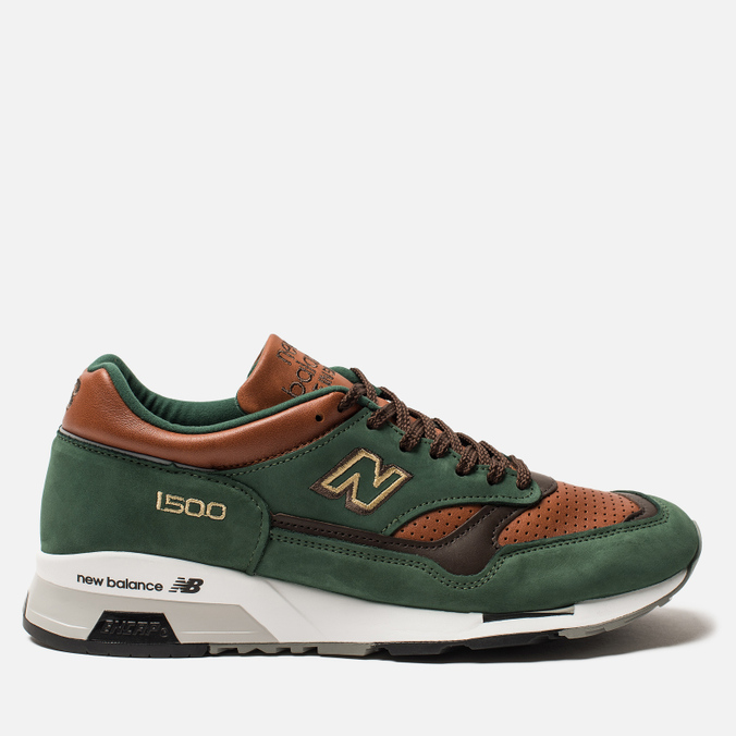 Мужские кроссовки New Balance M1500GT Forrest Green/Tan/Brown