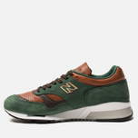 Мужские кроссовки New Balance M1500GT Forrest Green/Tan/Brown фото- 2
