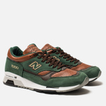 Мужские кроссовки New Balance M1500GT Forrest Green/Tan/Brown фото- 1