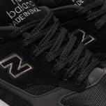 Мужские кроссовки New Balance M1500JKK Black/Grey фото- 6