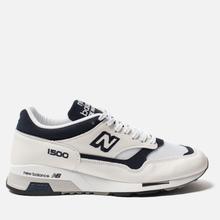 Мужские кроссовки New Balance M1500WWN White/Navy фото- 0