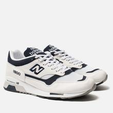 Мужские кроссовки New Balance M1500WWN White/Navy фото- 2