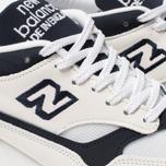 Мужские кроссовки New Balance M1500WWN White/Navy фото- 6