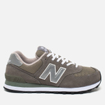 Кроссовки New Balance M574GS Grey/Silver/White фото- 0