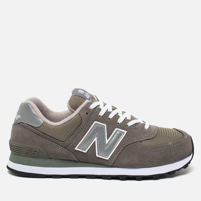 Кроссовки New Balance M574GS Grey/Silver/White